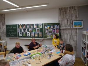Künstlerisches zum Mitmachen bei Frau Klopfleisch